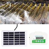 【𝐏𝐫𝐨𝐦𝐨𝐜𝐢ó𝐧 𝐝𝐞 𝐒𝐞𝐦𝐚𝐧𝐚 𝐒𝐚𝐧𝐭𝐚】Temporizador de riego, Juego de Temporizador de riego Solar, Kit de riego por Goteo Inteligente para Plantas de Flores, Herramienta para Invernadero de