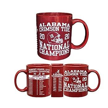 Alabama Crimson Tide National Championship Mug with Score and Schedule