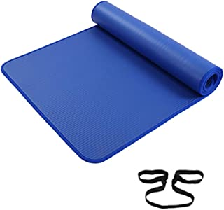 High-Density Yoga Exercise Mat, All-Purpose NBR Extra Thick 10MM - Anti Tear Non-Slip Fitness Mats