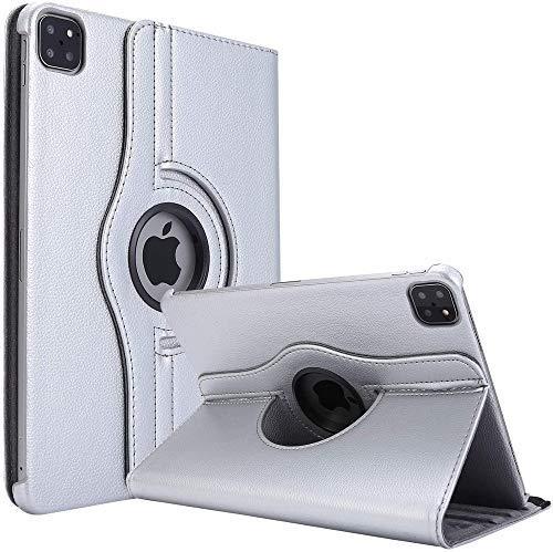 KATUMO Funda para New Apple iPad Pro 11 Pulgadas 2020 360°Rotating Funda con Soporte Funcion PU Leather Fundas para iPad Pro 11 2020 (iPad Pro 2nd Generation) Carcasa
