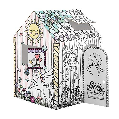 Image of Bankers Box at Play Unicorn Playhouse, 1pk, White (1230101)