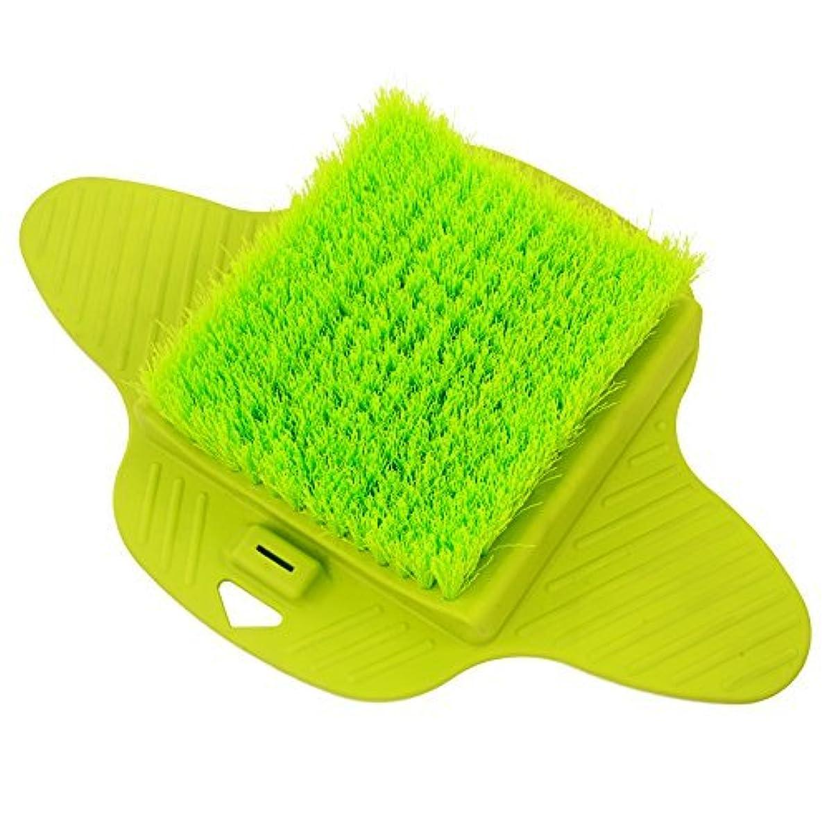 職業管理します傘Aurora Health & Beauty AW206 Foot Brush Scrubber with Dense Bristles for Massage Exfoliation and Callus Removal [並行輸入品]
