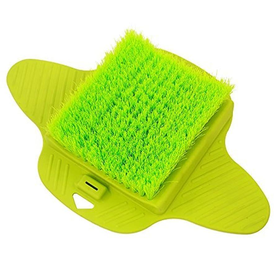 定期的帆シャンパンAurora Health & Beauty AW206 Foot Brush Scrubber with Dense Bristles for Massage Exfoliation and Callus Removal [並行輸入品]