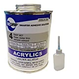 Weld-On 4 Acrylic Adhesive - Pint and Weld-On Applicator Bottle with Needle