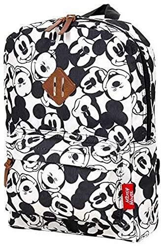 Disney Fashion Mickey Mouse Kinderrucksack - Schwarz und Weiß
