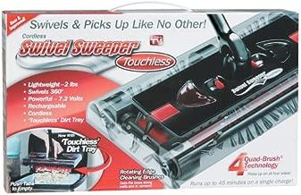 Swivel Cordless Floor and Carpet Sweeper