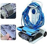 WSJTT Robot Pulitore Automatico per Piscina Fuoriterra Interrata Robot Elettrico Pulitore per...