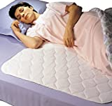 Priva High Quality Ultra Waterproof Sheet and Mattress Pad Protector 34x76 Inch, 9 Cups Absorbency, Guaranteed 300 Machine Washes