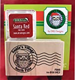 North Pole Postmark Rubber Stamp Set by DRS Designs
