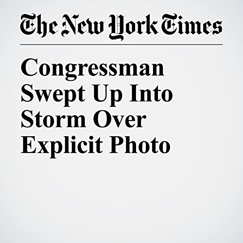 Congressman Swept Up Into Storm Over Explicit Photo copertina