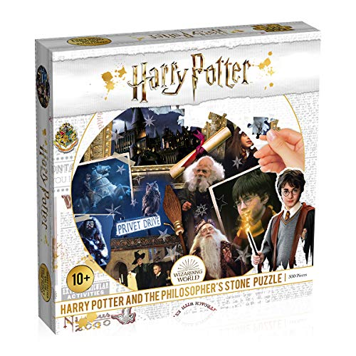 Winning Moves Puzzle Spiel Harry Potter Stein der Weisen Philosopher's Stone 500 Teile