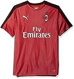 PUMA Herren AC Milan Stadium Jersey SS with Sponsor Hemd, Chili Pepper Schwarz, XX-Large