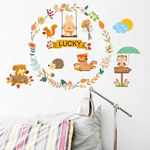 Muurstickers slinger dier kleuterschool kinderkamer slaapzaal slaapkamer slaapkamer deur stickers muur stickers muur zelfklevende behang