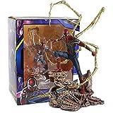 Meijin Iron Studios Iron Spider PVC Figura de acción coleccionable modelo de juguete (color : caja)