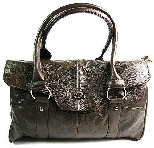 The Leather Emporium, Sac pour femme à porter à l'épaule Marron foncé