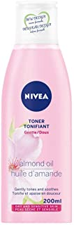 NIVEA Gentle Toner for Dry Skin (200mL), NIVEA Toner for Dry and Sensitive Skin, Refresh Skin with a Soothing and Gentle F...