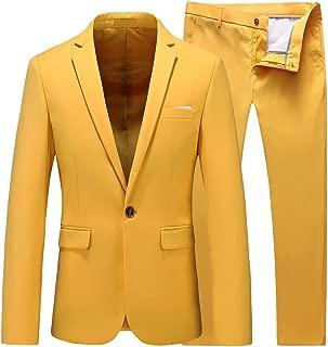prom tuxedos yellow