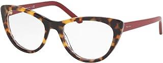 df6fdd7ed5 Prada 0PR 05XV Monturas de gafas, Medium Havana/Red Chess, 53 para Mujer