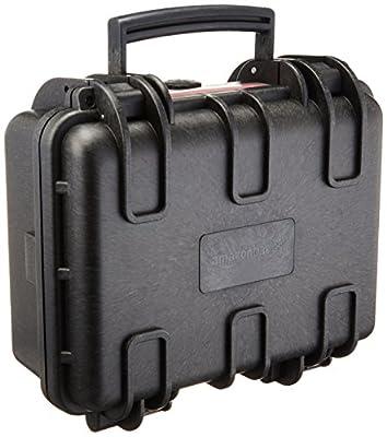 AmazonBasics Small Hard Camera Carrying Case - 12 x 11 x 6 Inches, Black