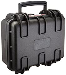 Small hard-shelled protective case for storing and transporting  SLRs, compact cameras, GoPro cameras and more Pressure equalization valve creates an airtight and watertight seal; watertight at 1 meter for up to 30 minutes - IP67 rated (independently...