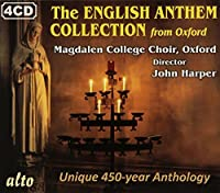 The English Anthem Collection by Magdalen College Choir Oxford (2012-01-17)