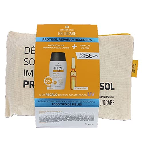 HELIOCARE 360_ PACK WATER GEL 50ML + ENDO RADIANCE OF 10 AMP 2021