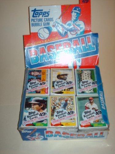 1981Topps Baseball-Karte Cello Pack von Topps