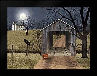 Sleepy Hollow Bridge Framed Art Print by Jacobs, Billy
