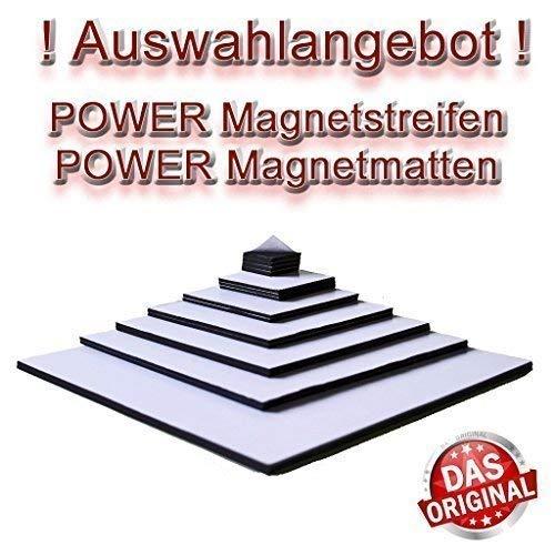 Nuevo Oferta Selección! Extremadamente Power Magnet-Streifen Takkis Autoadhesivo Varios Tamaños & Durabilidad Lámina Magnética - Fuerza 1.5mm, 20 x 20mm
