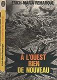 À L'ouest Rien De Nouveau - Livre de poche - 01/01/1984