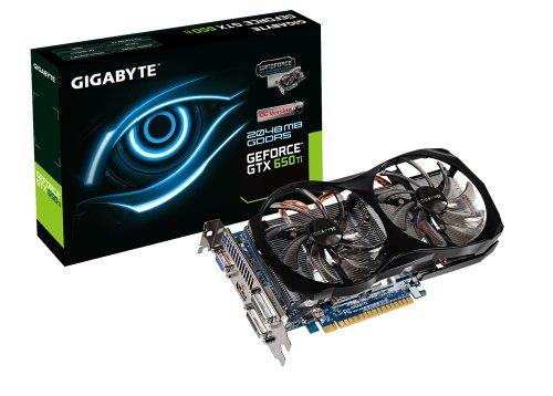 GIGABYTE GeForce GTX 650 Ti OC 2GB GDDR5 2x DVI / HDMI / D-SUB PCI-Express 3.0 Graphics Card Graphics Cards GV-N65TOC-2GI