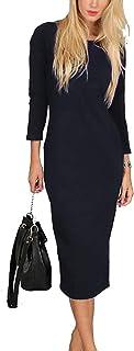 فستان - مناسبه خاصة - قصة مستقيمة - لون رصاصي - للنساء