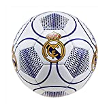 Real Madrid Ballon de Football n°3 Blanc Taille 5