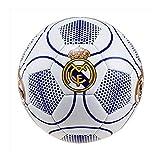 Real Madrid Balón de fútbol, número 3, Color Blanco, Talla 5