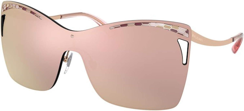 Bulgari Gafas de sol BV6138 20144Z Gafas de sol Mujer color Gris oro tamaño de lente 40 mm