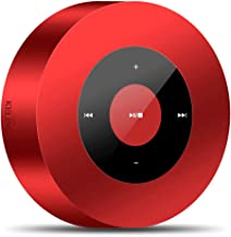 Mobile Phone Wireless Bluetooth Speaker Alipay WeChat Voice Broadcast Mobile Phone Amplifier Mini (Color : Red) photo