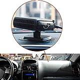 TradeShopOISEART - SBRINATORE RISCALDATORE SCALDINO 12V 150W TERMOVENTILATORE Ventilatore Auto Car - 07702