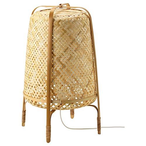 IKEA KNIXHULT - Lámpara de pie de bambú; (66 cm); A++.