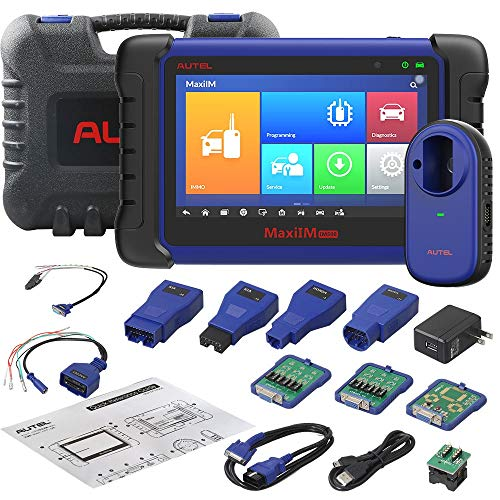 Autel IM508 Advanced Key Fob Programming Tool - MaxiIM IM508 Auto Diagnostic Scanner ECU Programming Device with XP200 for Car Oil Reset EPB TPMS BMS SAS DPF IMMO Function & More Service (for US)