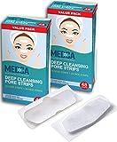 Deep Cleansing Blackhead Pore Strips - Confezione da 96 peel - Off Blackhead Remover e Pore Unclogging Strips per naso e viso, mento, fronte e pelle dall'aspetto più sano