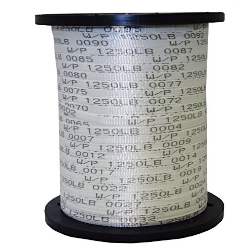 USA Made 1250 Lb 1/2' Pull Tape/Mule Webbing - 1000 FT (Many Strengths and Lengths Available)