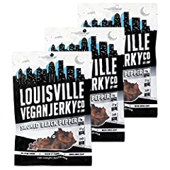 GREAT SOURCE OF PROTEIN and LOW FAT: Our jerky is vegan, vegetarian friendly, free of gluten, cholesterol and trans fat, 21 grams of protein, only 4 grams of total fat per bag and many ingredients are organic and locally sourced. A guilt-free snack. ...