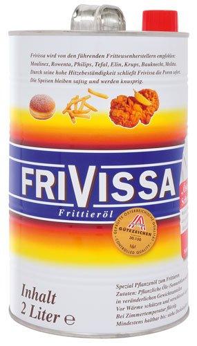 2x Frivissa - Spezial Frittieröl - 2000ml