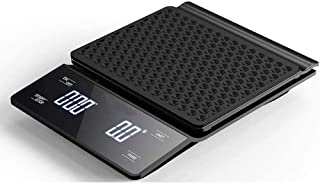 JUST STAR High precision drip coffee scale with 3kg/0.1g LED display on coffee scale with timer and touch button