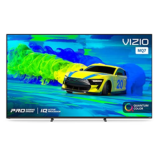VIZIO 70-Inch M-Series 4K UHD Quantum LED HDR Smart TV with Apple AirPlay 2 and Chromecast Built-in, Dolby Vision, HDR10+, HDMI 2.1, Variable Refresh Rate with AMD FreeSync, M70Q7-J03, 2021 Model
