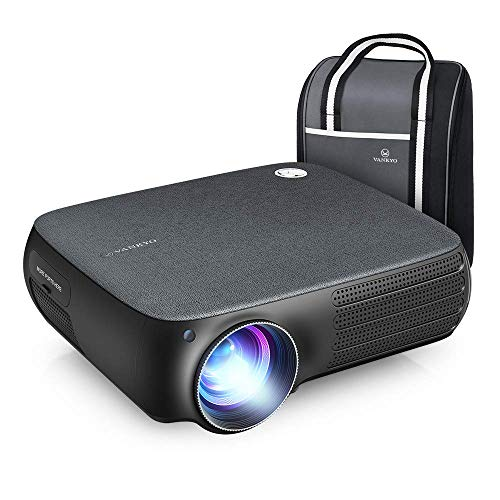 VANKYO Performance V610 Native 1080P LED Projector, Full HD Video Projector, ±40° Digital Keystone Correction, Compatible with Smartphone, TV Stick, HDMI, SD, AV, VGA, USB for PowerPoint