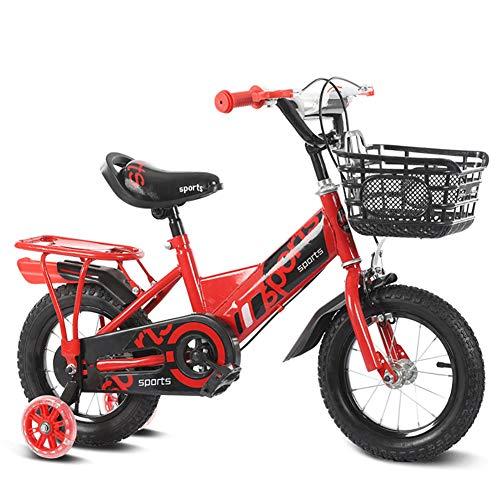 FJ-MC Unisex kinderfiets, jongensmeisjes, opvouwbare fiets, 3 kleuren, 12