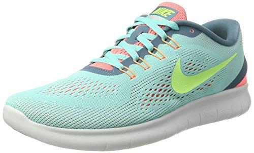 Nike Damen Free RN Laufschuhe, Türkis (Hyper Turquoise/Lava Glow/Smokey Blue/Ghost Green), 38 EU