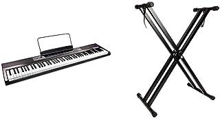 RockJam 88-Key Beginner Digital Piano with Full-Size Semi-We