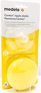 Pezonera para lactancia con estuche Medela, talla M (20 mm)